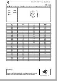 DIN 125 - K2L cz