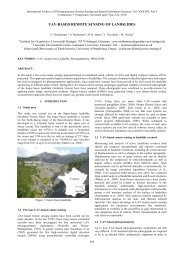 UAV-BASED REMOTE SENSING OF LANDSLIDES - ISPRS