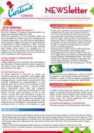 numero 26 – 27 giugno 2011 - Ufficio stampa - Dolomiti.org