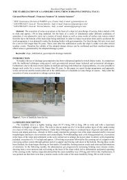 The Stabilization of a Landslide Using Trench Drains ... - Harpo spa