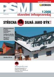1I2008 stavební infozpravodaj - PSMCZ cz
