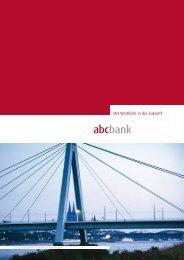 Mit Weitblick in die Zukunft - abcbank