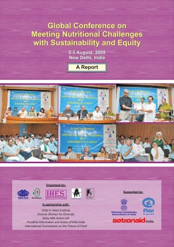 Global Conference on Meeting Nutritional Challenges ... - IBFAN ASIA
