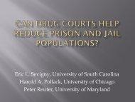 here - ccjs.umd.edu - University of Maryland