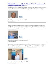 What's it like to work at Drake Software? Here's what some of our ...