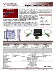 PZ1 High-speed Fiber Stretcher - AMS Technologies