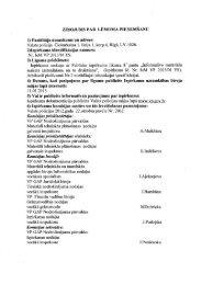 ZIŅOJUMS PAR' LĒMUMA PIEŅEMŠANU 1 ... - Valsts policija
