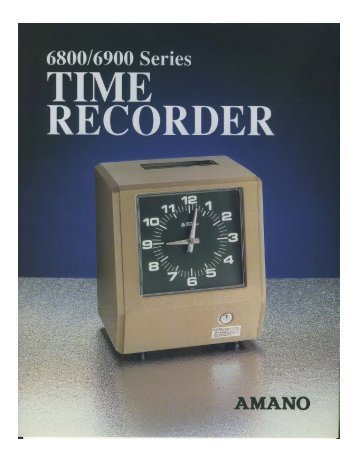 Product Brochure - Central Time Clock, Inc.