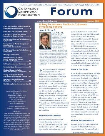 Download PDF - Cutaneous Lymphoma Foundation