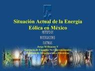 Situación Actual de la Energía Eólica en México - Tech4CDM