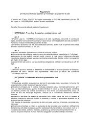 Regulament privind procedurile de raportare şi monitorizare a ...