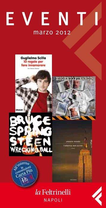 Eventi Napoli – marzo 2012 - Feltrinelli
