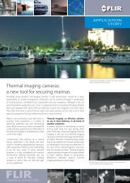 Thermal imaging cameras: a new tool for securing marinas