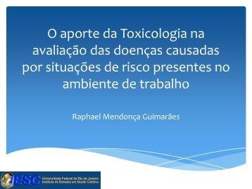 Agente químico - Instituto de Estudos em Saúde Coletiva - IESC/UFRJ
