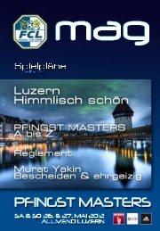 Das PFINGST MASTERS MAG als pdf-File - FC Luzern