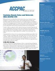 ACCPAC Advantage BI Cantatus