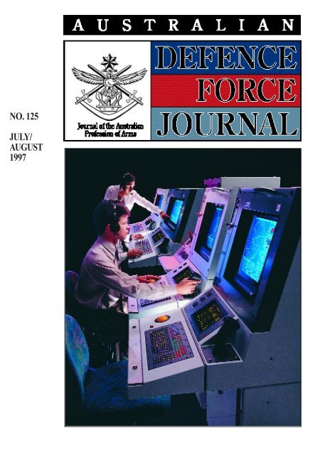 ISSUE 125 : Jul/Aug - 1997 - Australian Defence Force Journal