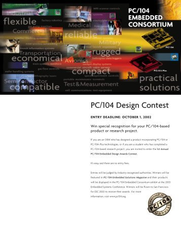 ContestCover (Page 1) - Micro/sys, Inc.