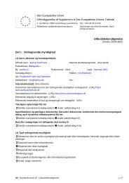 Udbudsbekendtgørelse for inventarentreprisen (pdf) - Urban ...