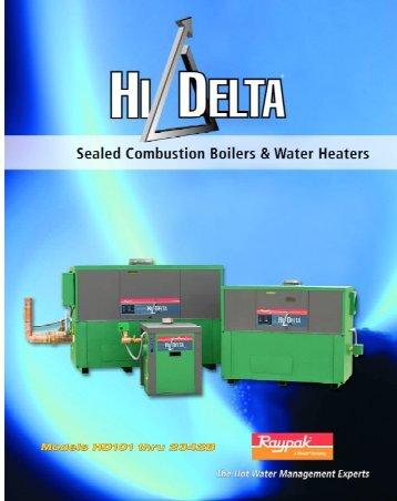 Raypak Hi Delta brochure - California Boiler