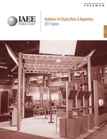 IAEM Guidelines For Exhibitors - Western States Roofing ...