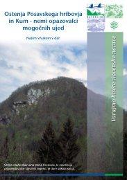 Ostenja Posavska hribovja in Kum - Natura 2000
