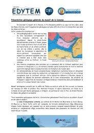 Présentation géologique générale du massif de la Vanoise - edytem