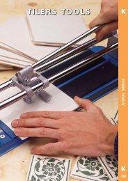 Tilers Tools leaflet - toolequip.ie
