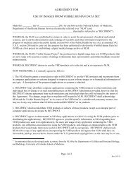 NLM Single License agreement - National Technical Information ...