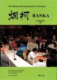RANKA YEARBOOK 1995 - The International Go Federation