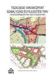 Városrendezési terv – Tiszacsege 2009 (pdf).