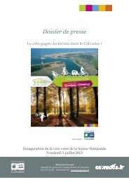 Inauguration Voie Verte Suisse Normande - Conseil général du ...