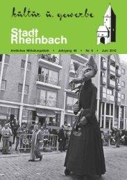 Juni 2012 - Stadt Rheinbach