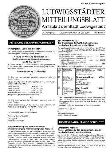 Amtsblatt 2004-07.indd - Ludwigsstadt