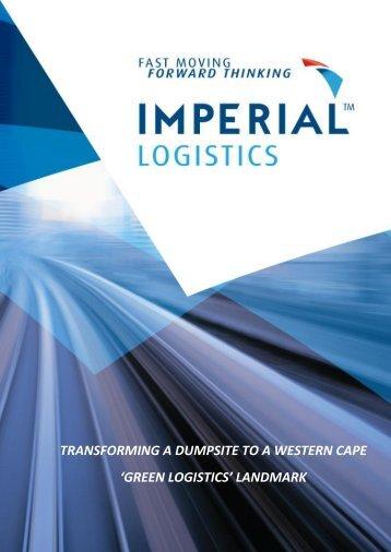 transforming a dumpsite to a western cape - IMPERIAL Logistics