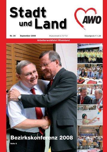 Bezirkskonferenz 2008 - AWO Rheinland