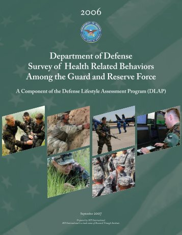 Survey of Health Related Behaviors Among Military ... - Tricare