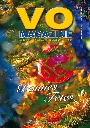 Télécharger le VO Magazine en version pdf - Villenave d'Ornon