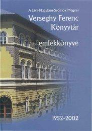 seghy Ferenc Könyvtár H emlékkönyve - Verseghy Ferenc ...