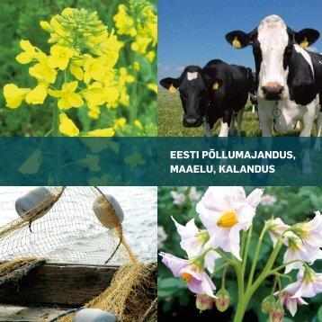 Põllumajandus, maaelu, kalandus 2010 - Põllumajandusministeerium