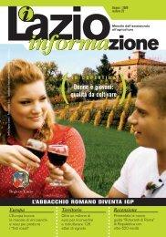 Stampa CopertinaDEF–LI-10-07 - Agricoltura - Regione Lazio