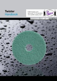 Twister Diamond Coated Floor Pads Handbook - Parish ...