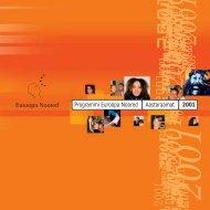 Programmi Euroopa Noored Aastaraamat 2001