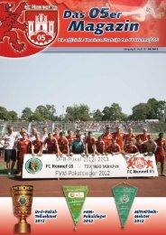 05er Magazin - beim FC Hennef 05
