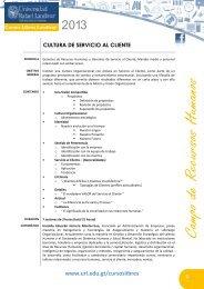 introducción a la cocina internacional - Universidad Rafael Landívar