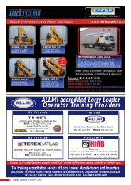 ALLMI accredited Lorry Loader Operator Training Providers