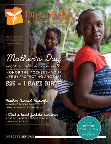 2013 Spring Newsletter - Direct Relief