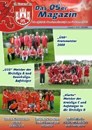 "Unsere ""All Ages"" - beim FC Hennef 05"