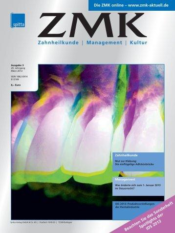 Ausgabe 3/2013 - ZMK-Aktuell