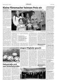 Kleine Filmemacher heimsen Preis ein - Studentenwerk Aachen